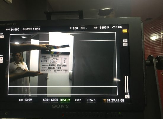 The Cake Clapperboard